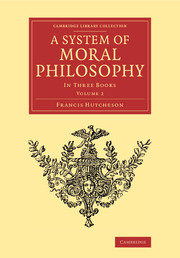 A System of Moral Philosophy