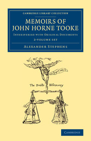 Memoirs of John Horne Tooke