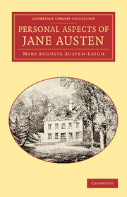 Personal Aspects of Jane Austen