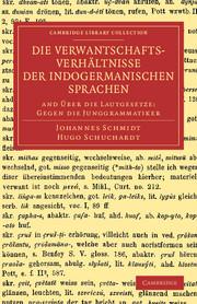 Die Verwantschaftsverhältnisse der indogermanischen Sprachen