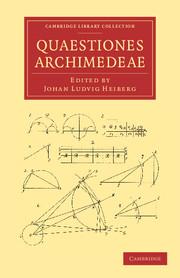 Quaestiones Archimedeae