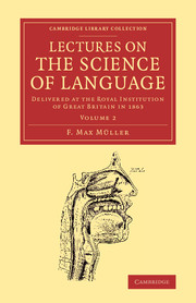 Lectures on the Science of Language