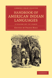 Handbook of American Indian Languages