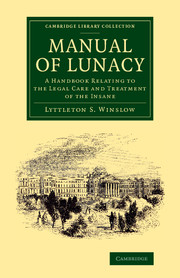 Manual of Lunacy