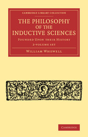 The Philosophy of the Inductive Sciences