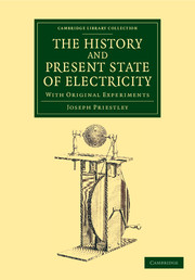 The History and Present State of Electricity
