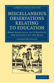 Miscellaneous Observations Relating to Education