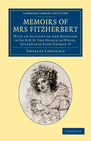 Memoirs of Mrs Fitzherbert