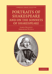 Portraits of Shakespeare, and On the Sonnets of Shakespeare
