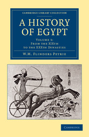 A History of Egypt