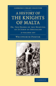 A History of the Knights of Malta
