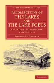 Recollections of the Lakes and the Lake Poets