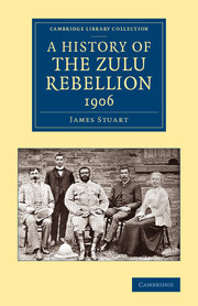 A History of the Zulu Rebellion 1906