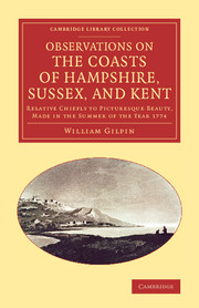 Observations on the Coasts of Hampshire, Sussex, and Kent
