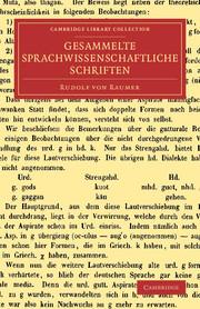 Gesammelte sprachwissenschaftliche Schriften