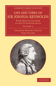 Life and Times of Sir Joshua Reynolds