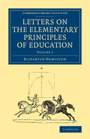 Letters on the Elementary Principles of Education