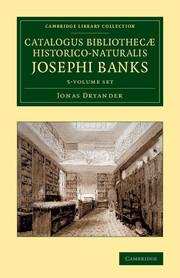 Catalogus bibliothecæ historico-naturalis Josephi Banks