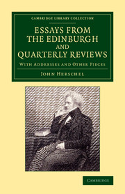 Essays from the Edinburgh and Quarterly Reviews