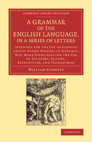A Grammar of the English Language, in a Series of Letters