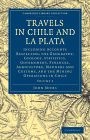 Travels in Chile and La Plata