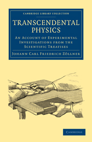 Transcendental Physics