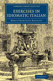 Exercises in Idiomatic Italian