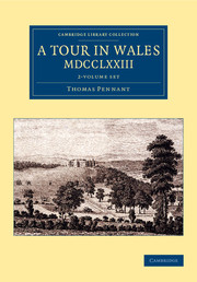 A Tour in Wales, MDCCLXXIII