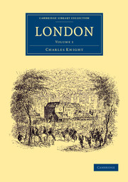 Cover of London, Vol. 1 by Charles Knight