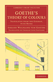 Goethe's Theory of Colours