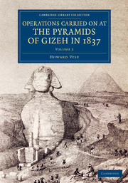 Operations Carried On at the Pyramids of Gizeh in 1837