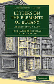 Letters on the Elements of Botany