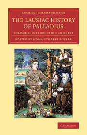 The Lausiac History of Palladius