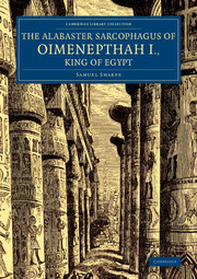 The Alabaster Sarcophagus of Oimenepthah I., King of Egypt