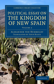 Political Essay on the Kingdom of New Spain