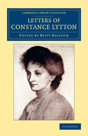 Letters of Constance Lytton