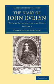 The Diary of John Evelyn