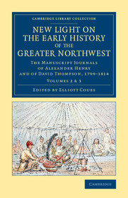 Cambridge Library Collection - North American History