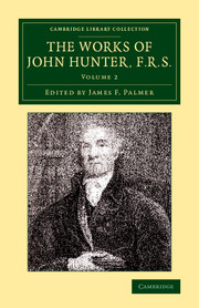 The Works of John Hunter, F.R.S.