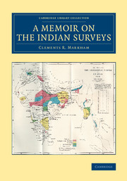 A Memoir on the Indian Surveys