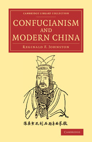 Confucianism and Modern China