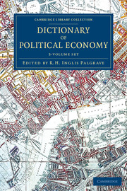 Dictionary of Political Economy