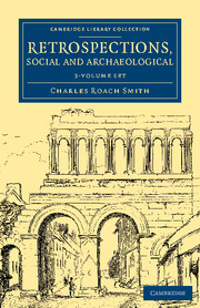 Retrospections, Social and Archaeological
