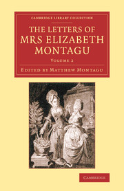 The Letters of Mrs Elizabeth Montagu