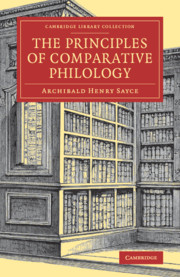 The Principles of Comparative Philology