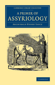A Primer of Assyriology