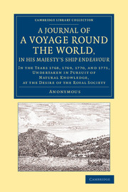 A Journal of a Voyage round the World, in His Majesty's Ship <I>Endeavour</I>