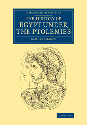 The History of Egypt under the Ptolemies