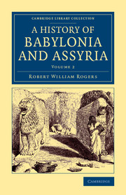 History of Babylonia and Assyria