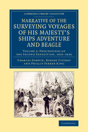 Narrative of the Surveying Voyages of His Majesty's Ships Adventure and Beagle